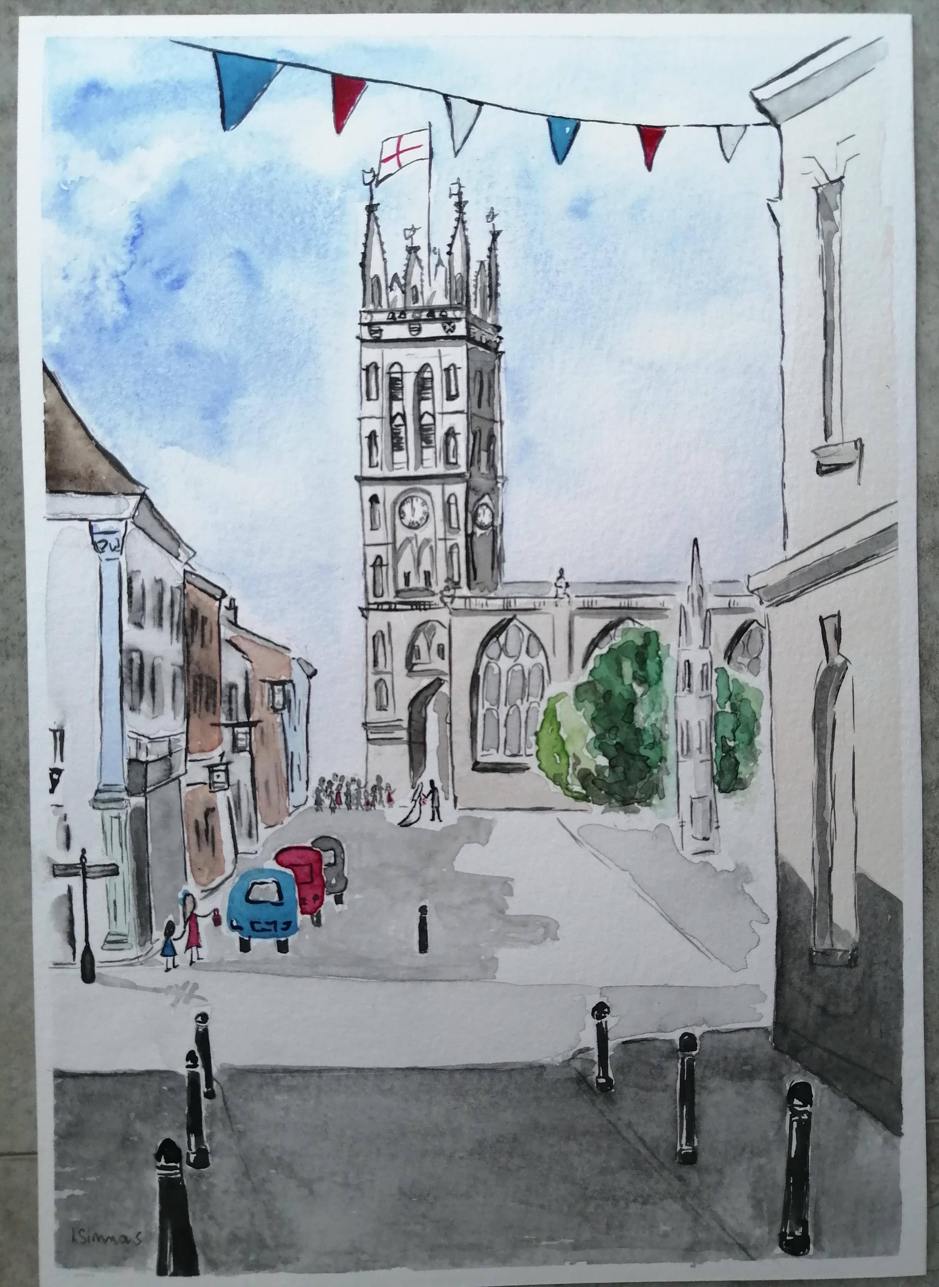 'St Mary's Church, Warwick'