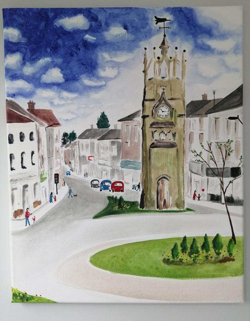 'Quarter Past Ten - Kenilworth Clock Tower'