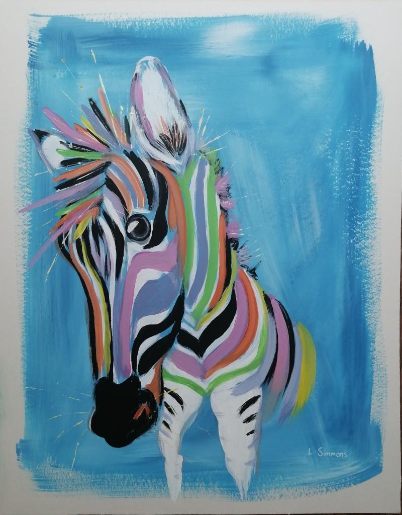 'Rainbow Zebra'