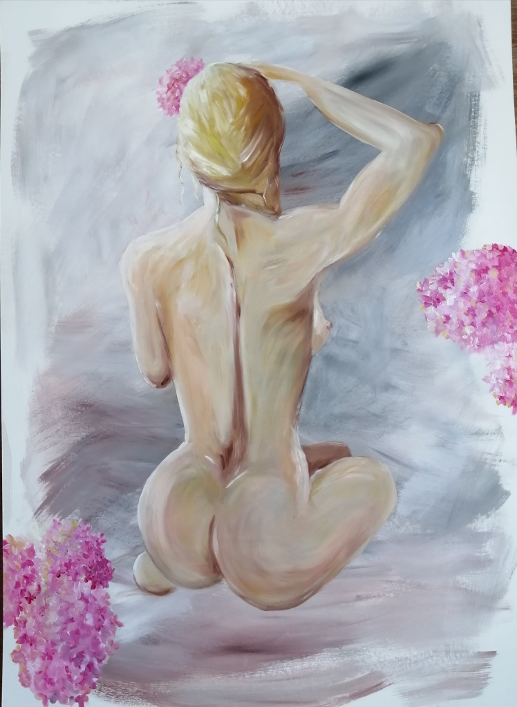 'Flowers in Her Hair'