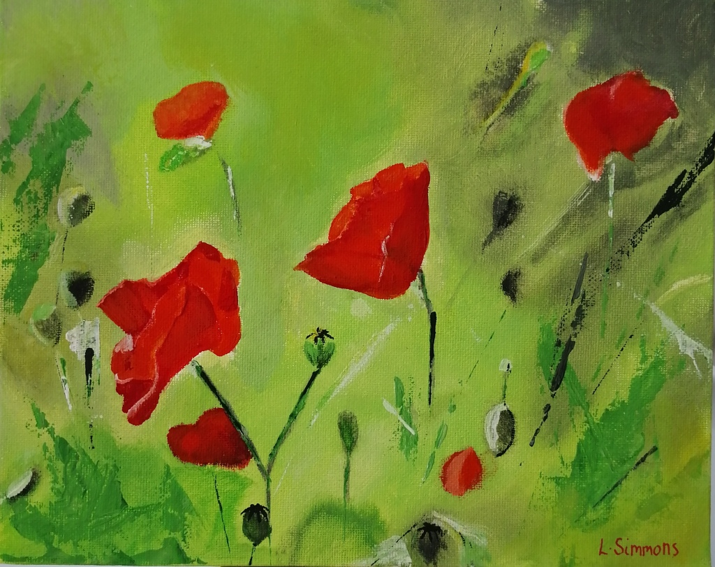 'Poppies, For You'