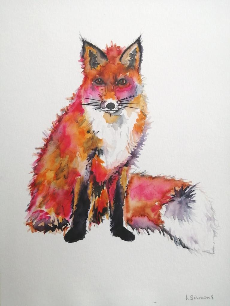 'Blushing Fox'