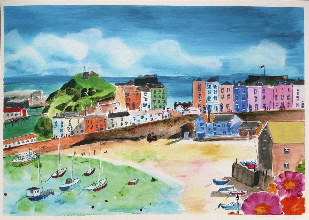 'Tenby Harbour, Pembrokeshire'